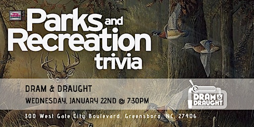 Parks & Rec Trivia at Dram & Draught Greensboro