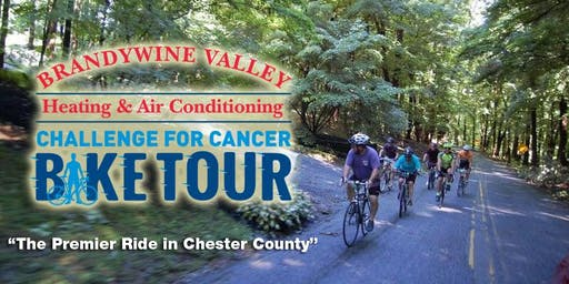 22nd Annual Brandywine Valley Heating and Air Conditioning Challenge For Cancer Bike Ride