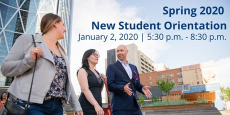 New Student Orientation (NSO) Spring 2020 tickets