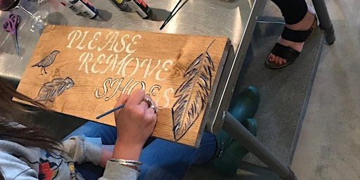 Wooden Sign Painting Workshop