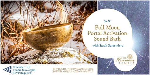 Full Moon Portal Activation Sound Bath