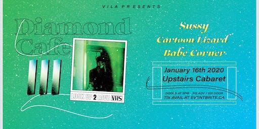 Diamond Cafe, Babe Corner, Cartoon Lizard, Sussy