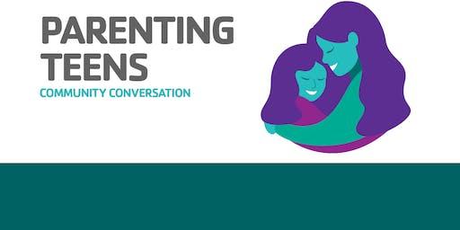 Shady Grove YMCA Community Conversations: Parenting Teens