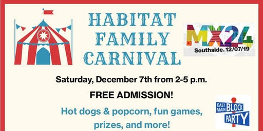 Habitat Family Carnival & 50% off Sale! (Mainx24 2019)