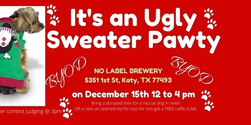 Ugly Sweater Pawty