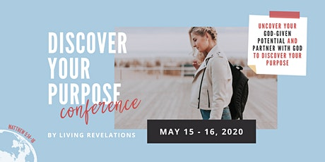 Discover Your Purpose Conference 2020 tickets