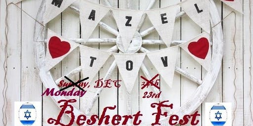 """Experience the JEWISH EVENT of the HOLIDAY SEASON. """"MAZEL TOV BESHERT FEST"""""""