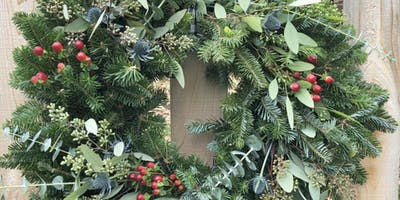 Create Your Holiday Wreath at Mitchell Gold + Bob Williams - Burlington