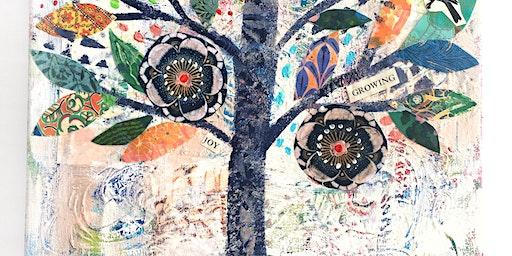 ART BAR - Tree of Life Collage