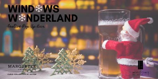 Windows Wonderland: Festive Pop Up Bar