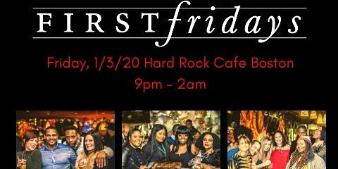 First Fridays of the New Year 1/3/20