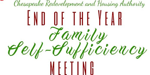 End of the Year Family Self-SufficiencyMeeting