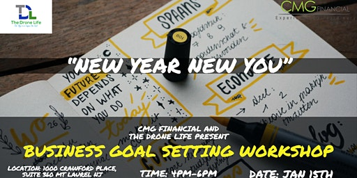 'NEW YEAR NEW YOU' BUSINESS GOAL SETTING WORKSHOP