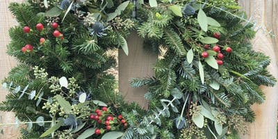 Create Your Holiday Wreath at Mitchell Gold + Bob Williams - St. Louis