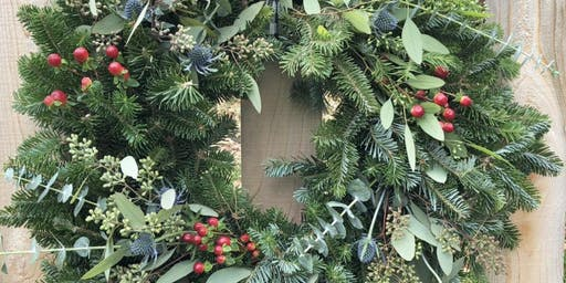Create Your Holiday Wreath at Mitchell Gold + Bob Williams - Fort Worth