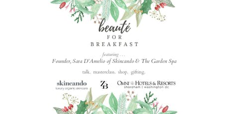 Beauté for Breakfast with Skincando tickets
