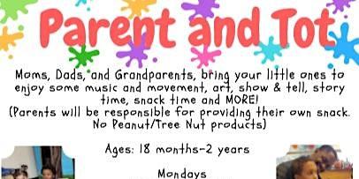 Winter 2020 TOB DPCC Parent & Tot (18 month - 2 year olds)