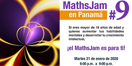 MathsJam #9 en Panamá boletos