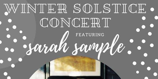 Winter Solstice Concert Featuring Sarah Sample