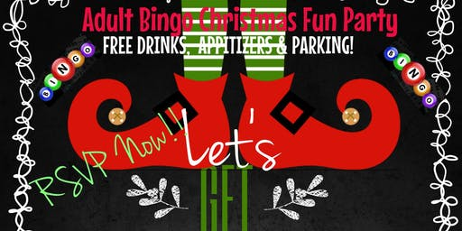 Adult Bingo Christmas Fun Party