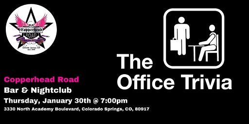 The Office Trivia at Copperhead Road Bar & Nightclub