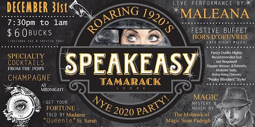 Roaring 1920's NYE Party w/ Maleana