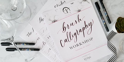 Intro to Brush Calligraphy Workshop