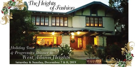 Heights of Fashion: Historic Home Tour & Holiday Progressive Dinner tickets