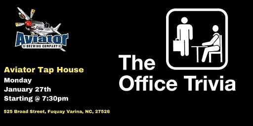 The Office Trivia at Aviator Taphouse