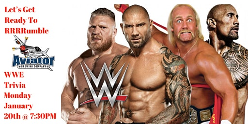 WWE Trivia at Aviator Taphouse