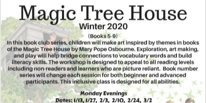 Winter 2020 TOB DPCC Magic Tree House (5-9)
