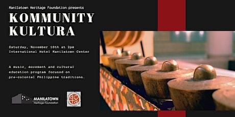 Kommunity Kultura presents Sagayan! tickets