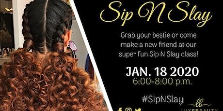 Sip N Slay - Beginners tickets