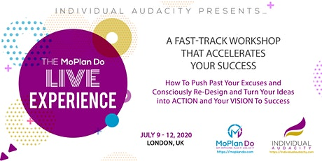 Individual Audacity Presents The MoPlan Do Live Experience London, UK tickets