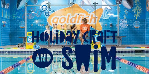 Holiday Craft & Swim at Goldfish Swim School!