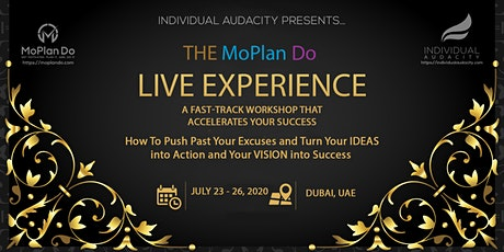 Individual Audacity Presents The MoPlan Do Live Experience Dubai, UAE tickets