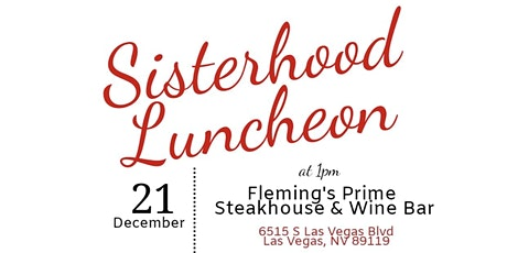 LVAC DST- Sisterhood Luncheon tickets