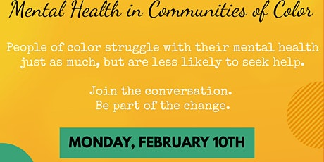 Mental Health in Communities of Color tickets