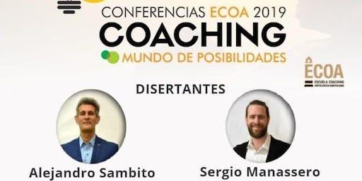 """CONFERENCIAS ECOA 2019 COACHING """"MUNDO DE POSIBILIDADES"""""""