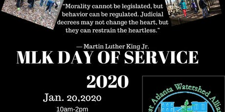 MLK Jr. Day of Service 2020 tickets