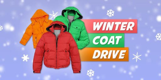 Warm For The Winter Coat Drive