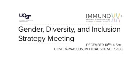 Gender, Diversity, and Inclusion Strategy Meeting tickets
