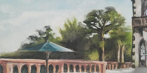 Plein Air Painting in the Gardens