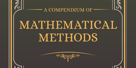 Launch of Jo Morgan's book 'A Compendium of Mathematical Methods' tickets