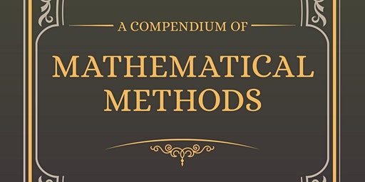 Launch of Jo Morgan's book 'A Compendium of Mathematical Methods'