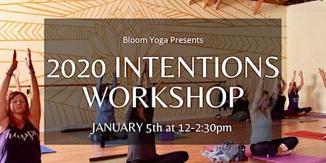 2020 Intentions Workshop tickets