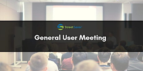 StreetSaver General User Meeting tickets