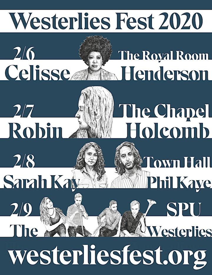 Westerlies Fest 2020 - Celisse // The Westerlies image