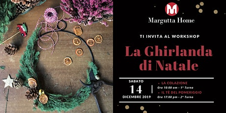 Margutta Home Workshop: La Ghirlanda di Natale biglietti