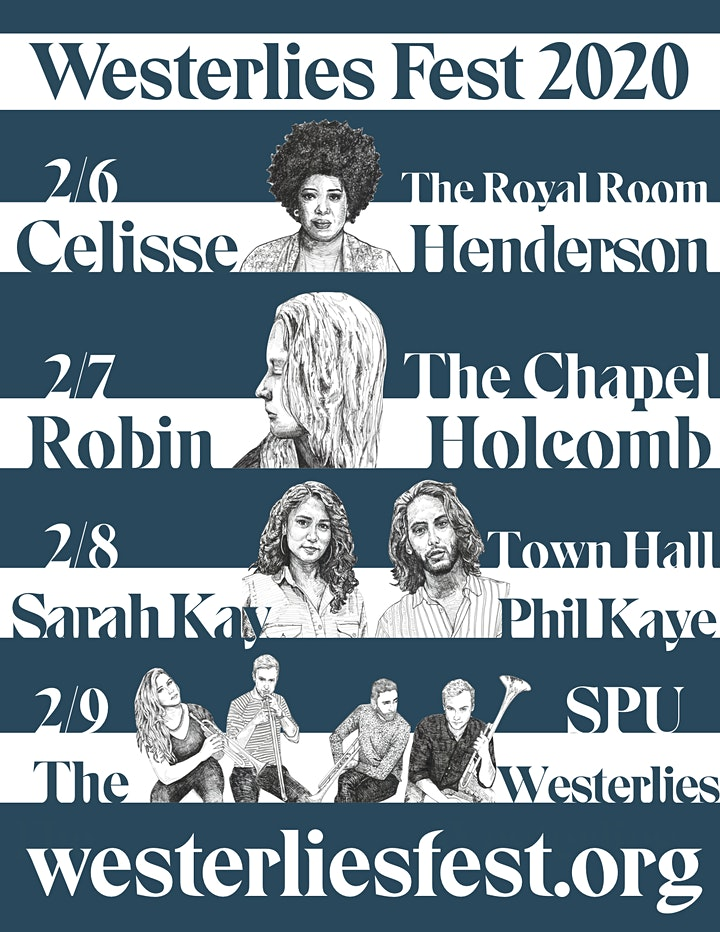 Westerlies Fest 2020 - Robin Holcomb // The Westerlies image